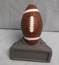 "Football trophy resin award ""rock"" ball full color Jds28A"
