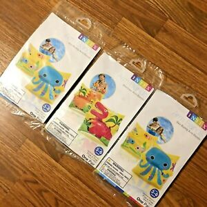 NEW LOT of 3 Intex Arm Bands Swim Inflatable Water Wing Octopus Age 3-6 Gift