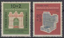 BRD Michel 171 + 172 postfrisch **, Katalog: 50 € !!
