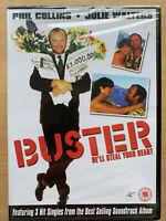 Buster DVD 1988 Británico Edwards Gran Tren Robbery Clásico W/ Phil Collins Rare