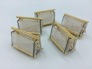Tekno 'Glass' Load in wooden frame for WSI Tekno Corgi Loads diorama Code 3 1/50