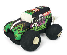 "Monster Jam Truck Grave Digger 10"" Plush Stuffed 2013 4 time Champion Bad Bone"