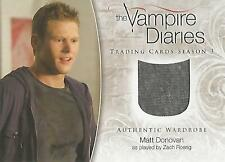 "Vampire Diaries Season 3 - M-09 Zach Roerig ""Matt Donovan"" Wardrobe Card"
