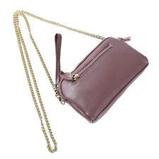 Women Ladies Shoulder Handbag Gold Chain PU Leather Shoulder Cross Body Bag N7