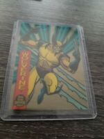 Marvel Universe1994 Suspended Animation 10 Wolverine Card