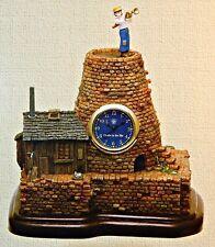 Castle In The Sky PAZU'S HOUSE TABLE CLOCK STATUE Scarce! MIB