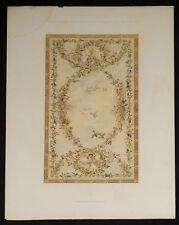 Anton Seder Jugendstil lithograph 1897 Naturalistiche Decorations-malereien 9