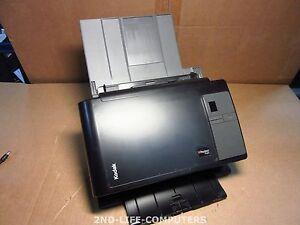1 SCAN - AS NEW - Kodak i2400 COLOR DUPLEX Scanner Dokumentenscanner FLATBED