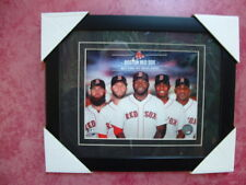 2014~BOSTON RED SOX PICTUREwithBIG PAPI(Official MLB)NEW IN CUSTOM FRAME !