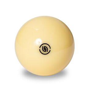 "Aramith Tournament Pool Cue Ball 2 1/4"" with Black Logo"