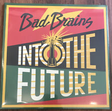 Bad Brains – Into The Future LP [Vinyl New] Red Yellow Green Splatter Alt Cover