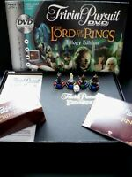 Lord of the Rings Trivial Pursuit DVD Board Game Trilogy Edition
