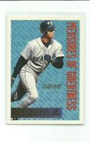 KEN GRIFFEY JR (Seattle Mariners) 1994 TOPPS MEASURE OF GREATNESS GOLD PARALLEL