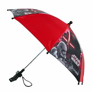 Disney Kids' Star Wars Stick Umbrella with Character Handle