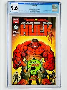 Hulk #1 Hero Initiative/Atomic Comics Edition 1st Red Hulk! CGC 9.6 (new case)