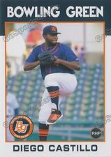 2016 Bowling Green Hot Rods Diego Castillo RC Rookie Rays