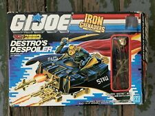GI Joe Cobra DESTRO'S DESPOILER w/ DESTRO v2 (1988) NEW CONTENTS Complete NICE