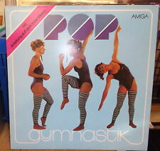 Pop Gymnastics GDR AMIGA LP: Instructions on inlay/Puhdys Silly Carat Pagels