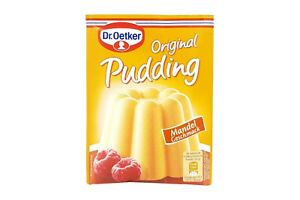 6x Genuine Dr Oetker Original Pudding almonds 🍮 TRACKED SHIPPING from Germany