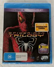 SPIDER-MAN Trilogy Blu-ray 3 Movie Collection Region A,B,C oz seller spiderman