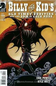 Billy the Kid's Old Timey Oddities and the Orm of Loch Ness #4 VF; Dark Horse  