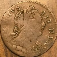1775 GREAT BRITAIN GEORGE III FARTHING COIN KM# 602 - Non regal