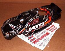 Traxxas 3.3 Jato Black Orange Gray ProGraphix Factory Painted Body Decals 55 77