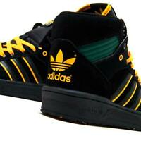 MEN'S ADIDAS ORIGINAL RIVALRY HI OG NA-KEL FX2550 RETRO TREFOIL BASKETBALL 12.5