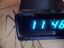 Uhr Wecker Braun 4967 BLACK mit fehler error