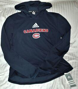 Montreal Canadiens Adidas Aeroready training shirt women's small NEW W TAGS NHL