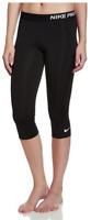 Nike Womens Athletic Pro Capri Black X-Large XL Dri-fit Running 3/4 Pants