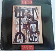 "UB40 - Wear You To The Ball  / Splugen 1989 7"" Vinyl Record Reggae Music"