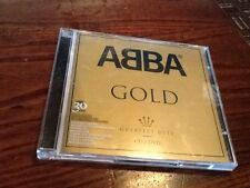 ABBA - GOLD - GREATEST HITS - CD AND DVD SET - DANCING QUEEN / SOS / FERNANDO +