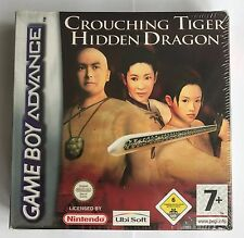GBA Crouching Tiger Hidden Dragon, Brand New & Factory Sealed