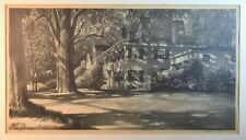 """Fine Stow Wengenroth """"Sunlight in Wiscasset Lithograph"""