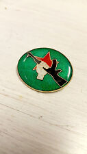 INLA AK47 Green Red Star & Fist Enamel Pin Badge - Irish Republican Socialist