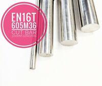 EN16T 605M36 Steel Cut Bar 300mm Lengths High Tensile Metric