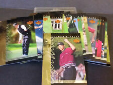 2001 Upper Deck Golf Tiger's Tales Insert Set of 30 - PGA