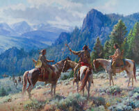 """Strategies"" Martin Grelle Limited Edition Fine Art 30"" Giclee Canvas"