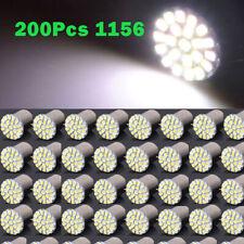 200pcs 24V White 1156 BA15S 1206 22SMD LED Car Backup Reverse Turn Light Lamp