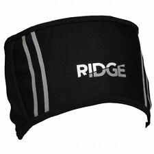 Ridge Wind Resistant Fleece Lined Cycling, Running Headband - Black One Size