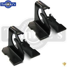 67-69 GM F-Body Floor Pan Rear Lower Seat Mounting Anchor Brackets Bracket Set