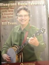 Bluegrass Banjo Favorites:Develop Your Skills w/8 Essential Jam Tunes [Homespun]