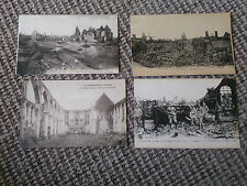 Real Photographic (RP) Military Building Postcards