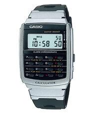 Casio Uomo Core resina d'argento orologio al quarzo digitale CA56-1DF garanzia di 12 mesi