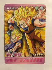 Data Carddass Dragon Ball Z Bakuretsu Impact PART 3 - 124-III