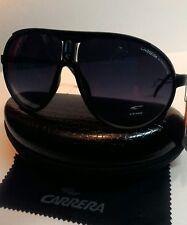 Carrera Fashion Men & Women's Matte Black Retro Sunglasses+ Carrera Case&Cloth