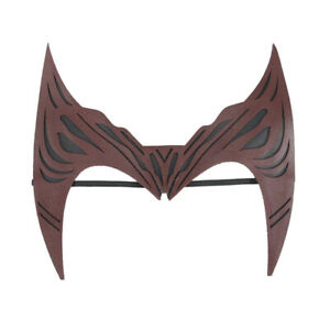 Wanda Maximoff Vision Scarlet Witch Headwear Leather Made Topknot Cosplay Props