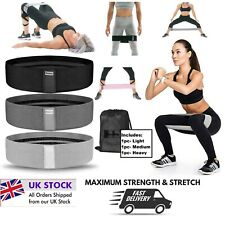 Resistance Febric Bands Hip Circle Glute Leg Booty Bands Set Non Slip Heavy Duty