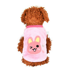 XXS Pink RabbitPuppy Winter Warm Sweater Pet Clothes Teacup Baby Dogs Clothing